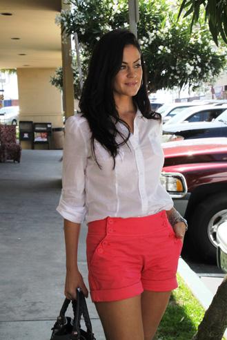 Glam Latte_Pink Shorts