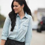 Leather and Chambray