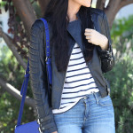 Stripes, Leather and Denim