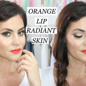 Orange Lip + Radiant Skin