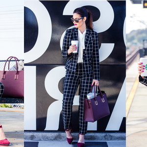 OOTD: Plaid Suit for Fall