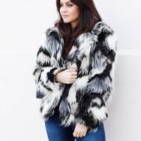 Fur Coat and Denim