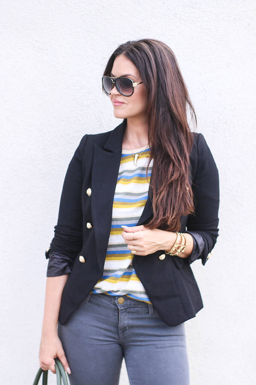 iro striped top