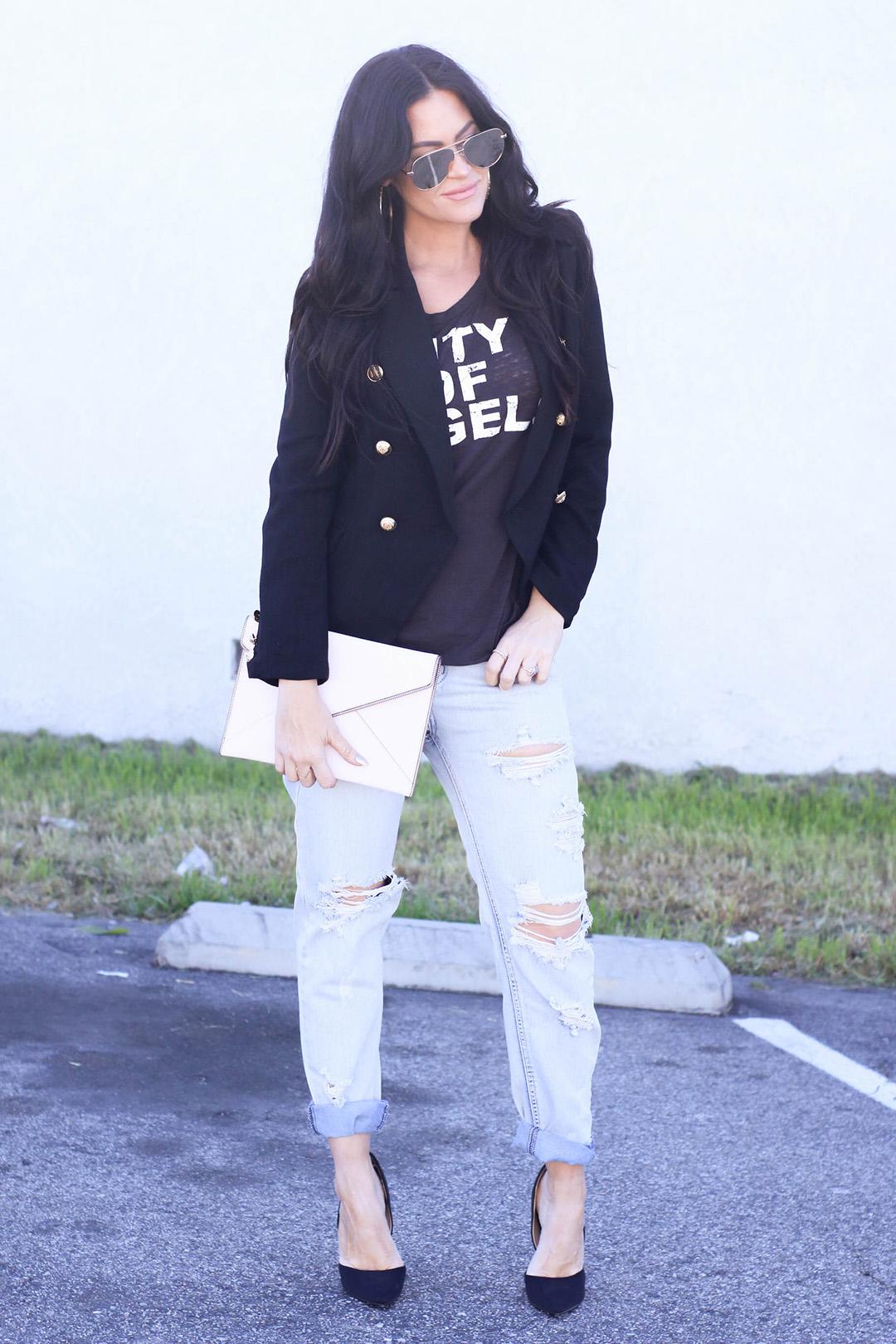 Blazer + Jeans -c-9
